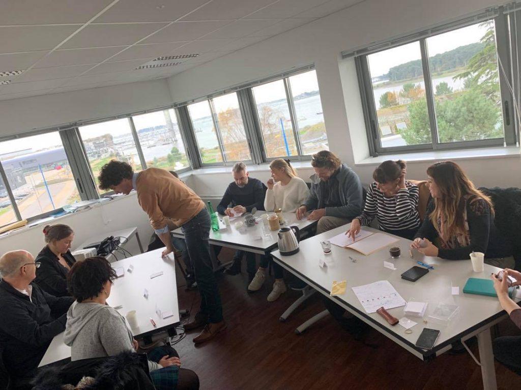 Travail collaboratif des différents membres et partenaires de FACE Morbihan